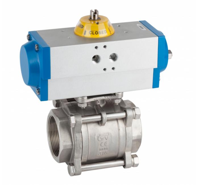 Automatización y control / Actuador neumático GN simple efecto