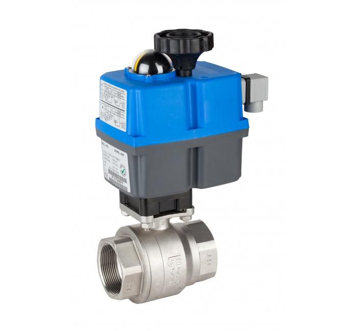 Automatización y control / Actuador eléctrico monofásico